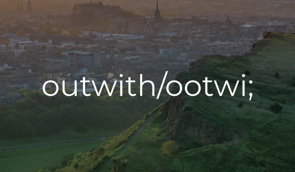 outwith-ootwi Scots language meaning