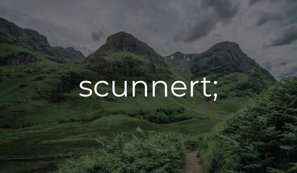 scunnert meaning in Scots Language